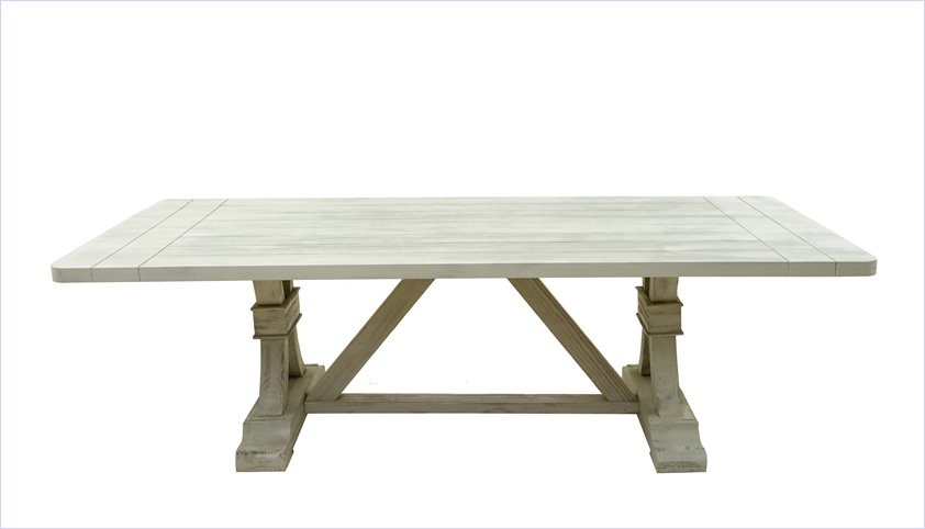 St James 10 Seater Table (Oatmeal)