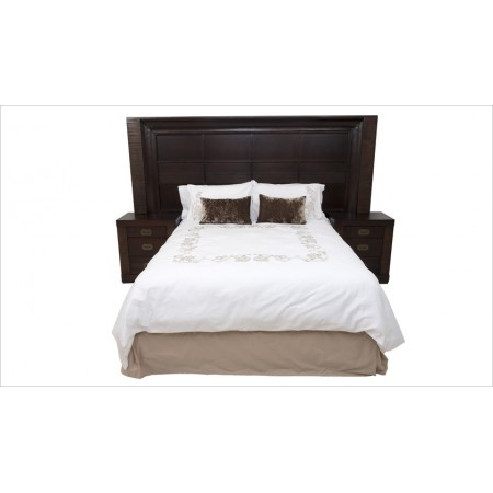 Bellevue Universal Headboard & Side Units (Espresso)